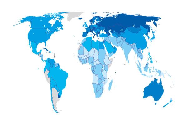 صنعت بیمه در کشورهای منتخب عضو oecd